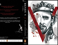 Henry V Book Cover Design