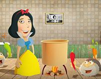 Heroes Of Fairy Tales - Short Movie Illustrations