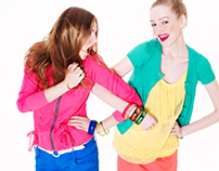 "VOIR JEANS ""COLOR DELIGHT COLLECTION"""