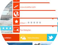Turizm Sayfaları - İç Sayfa Tasarımları