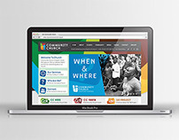 Church web design and branding