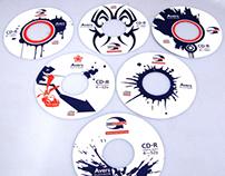 Дизайн CD-дисков для «Техцентра Аверс»