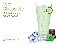 Herbalife Formula 1 Mint Chocolate Chip Launch