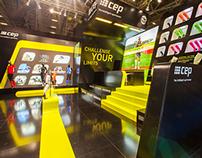CEP Sports - Booth Branding