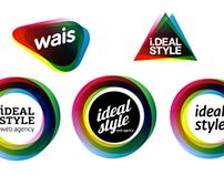 Логотип веб-агентства «Идеальный стиль»