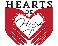 Hearts of Hope 5K Logo & Marketing Materials