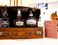 American Whiskey Duty Free Stand