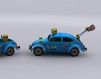 Decorating Car for Megastar Vietnam