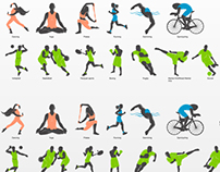 Sport Icons for app