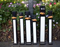 Penguins in Savannah