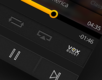 VOX iOS Player concept WIP