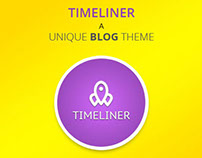 TIMELINER- A Responsive Timeline WordPress Blog Theme