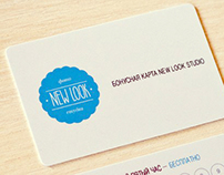 "Identity for 'New Look"" studio"