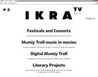 IKRA.TV site