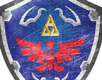 Hylian Shield - Zelda Series