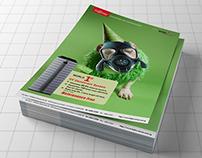 Fujitsu Air Deodorizer Display Poster