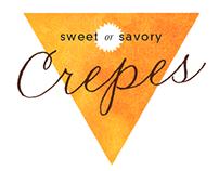 Europa Cafe's Crepe Logo&Poster design