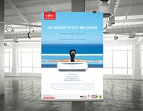 Fujitsu Plastream Aircon Branding Campaign