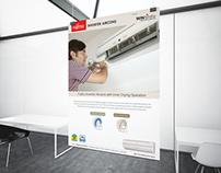 Fujitsu Aircon Branding Poster