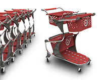 FlexCART - mass retail shopping cart