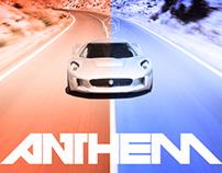 ANTHEM supercar magazine - editorial concept