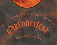 Oktoberfest Seasonal Beer Design/Packaging