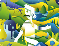 FIFA World Cup 2014 Illustrative Poster