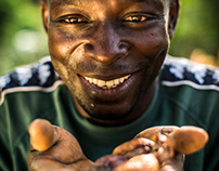 Ghanaian farmers growing Grains of Paradise