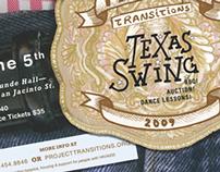 Texas Swing Charity Ball Mailer
