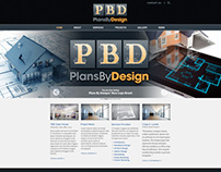 Plans By Design Branding & Website