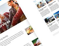 Summit Lodge: Website design