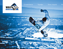Website redesign for ski resort