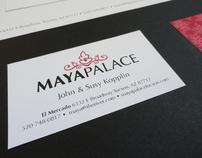 Maya Palace Identity Design