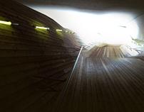 CGI Architecture - Wood Corridor