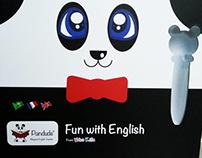 Pandude English teaching set