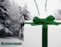 Cartão de Natal Rodoban