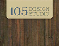 105 Design Studio Brand Identity & Website