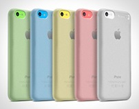 Complete Protection Kit for iPhone 5c