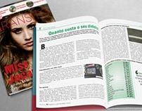 Diagramação de Revista | Magazine | Graphic Design
