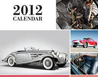 RM Auctions 2012 Calendar