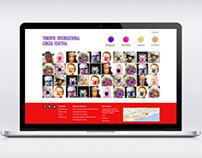 Toronto Int'l Circus Festival Web & Social Media