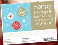 Holiday Card for Real Estate Agent