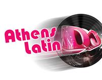 ATHENS LATIN Dj - Logo & Posters