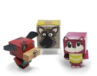 PAWS Paper Pets Direct Mailer