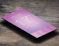 iOS 7 Weather App Free .PSD