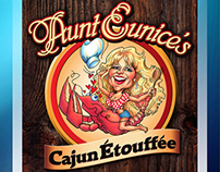 Cajun Food Logo Brand