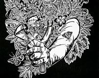 Xilografías trópiko colectivo, Marzo 2014