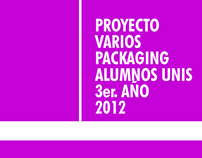 PACKAGING ESTUDIANTES UNIS 2012