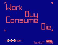 TechCUT Font