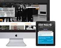 Krav Maga Nottingham: Web design and development